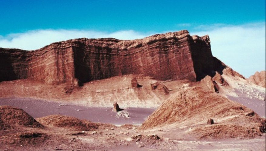 Chile's Atacama Desert is one of the largest sources of natural saltpeter.