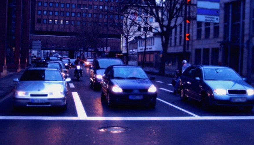 Statisticians use queueing theory to describe and analyze traffic.