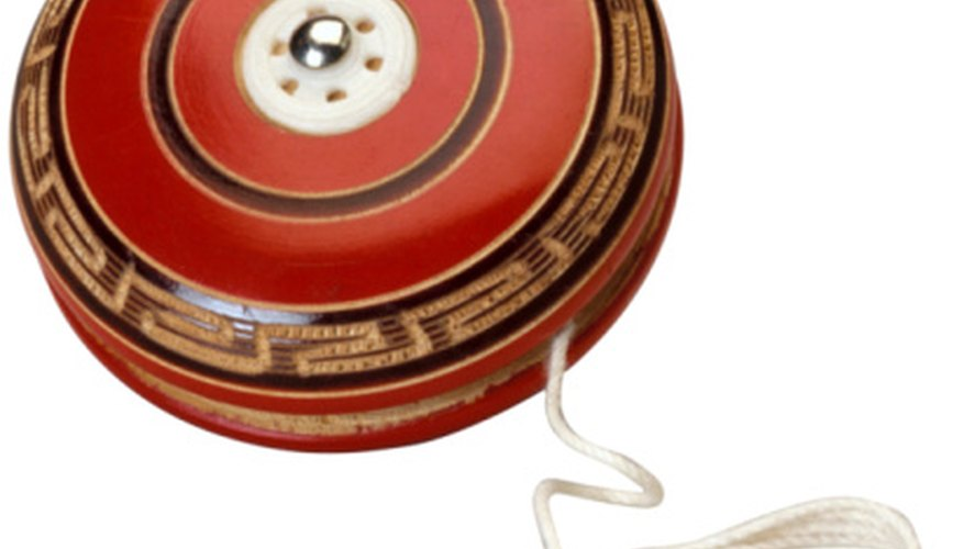 When you hold a yo-yo in your hand, it has potential energy.