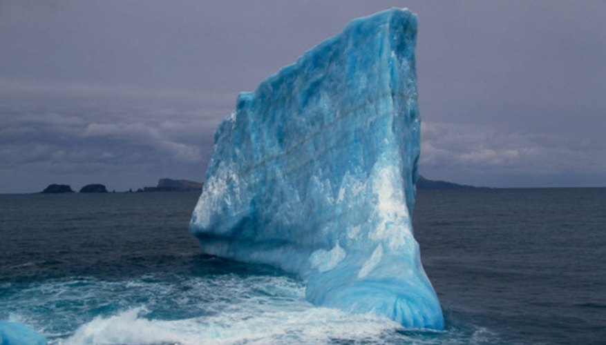 Cold water sinks in the polar regions and pushes the water beneath it toward the equator.