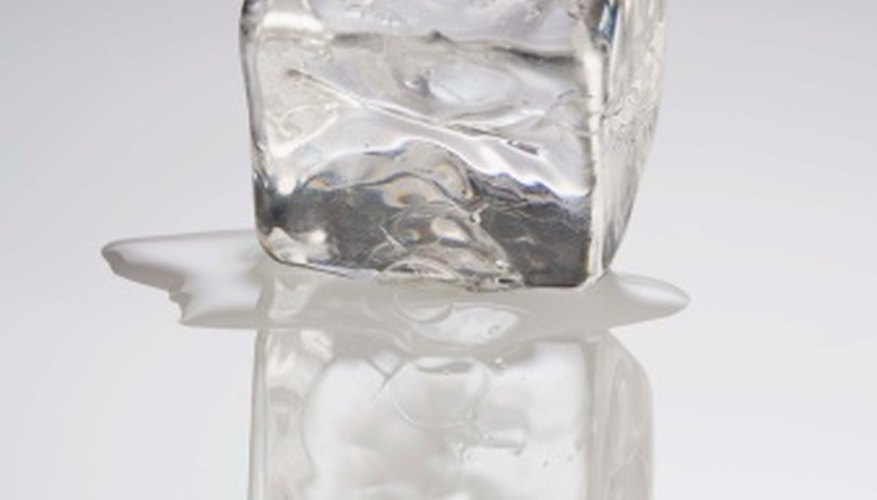 Different Ways to Melt Ice Cubes