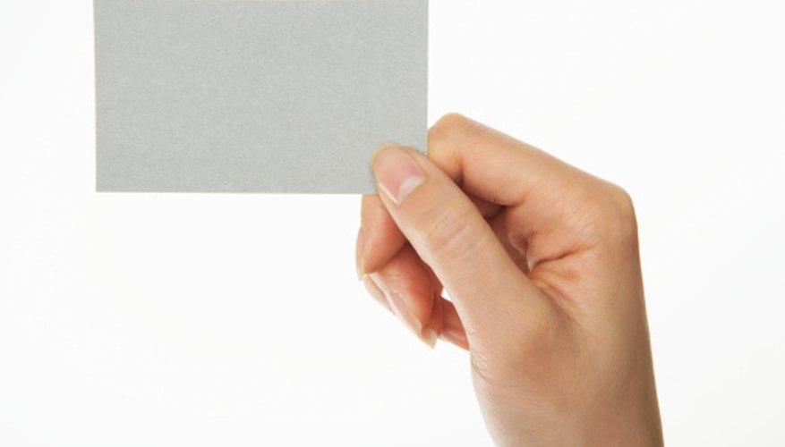Create a virtual business card in Microsoft Outlook.