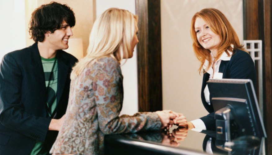 A warm greeting can lead clients to return again and again.