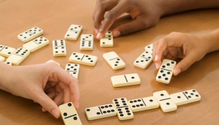 Chicken Foot is a popular game of dominoes.