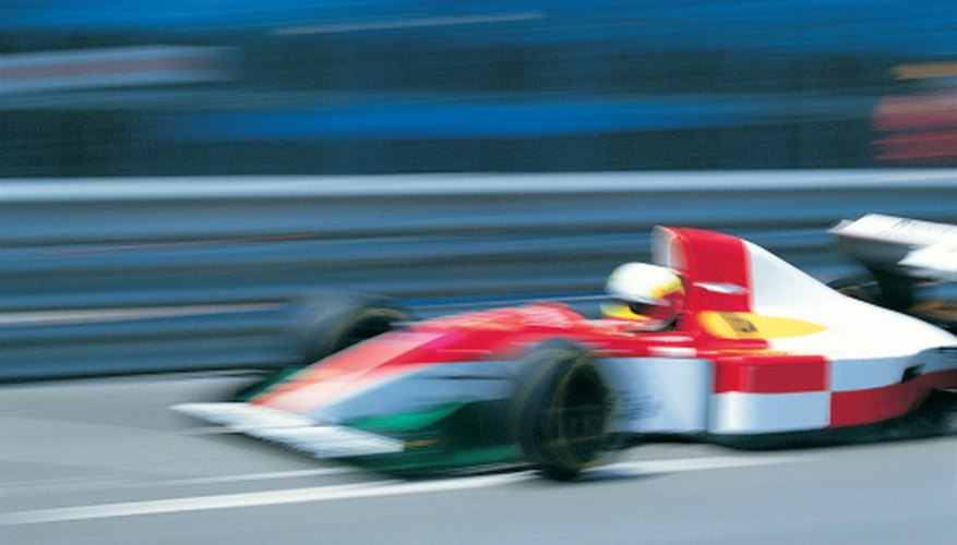 Auto race teams benefit from corporate sponsorship.