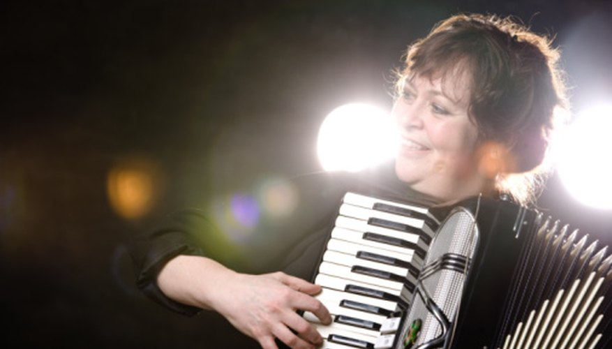 Many types of folk music, particularly those of Eastern European origin, use the accordion.