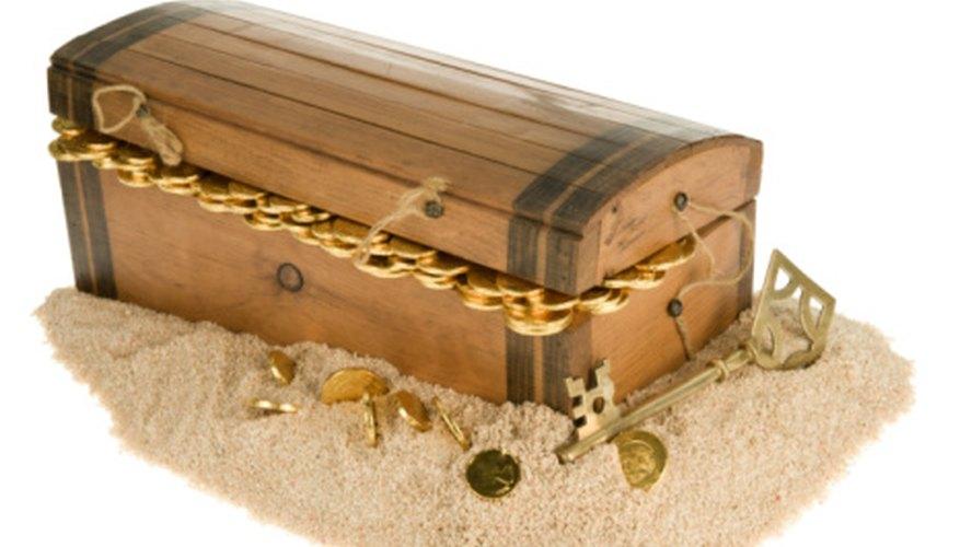 Borrow your children's treasure trove for your party.