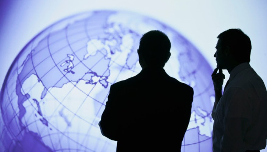 In-person communication can help build trusting relationships between international partners.