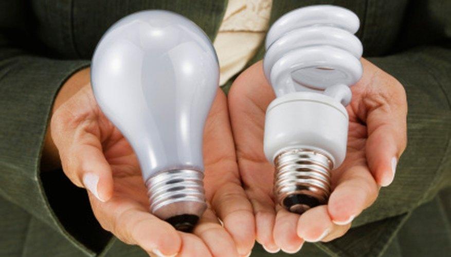 Diferentes diseños de luces son usadas para iluminar diferentes estructuras.