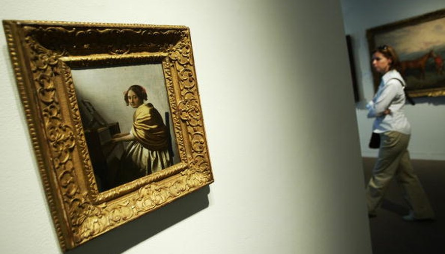 Johannes Vermeer was one artist associated with Northern Baroque art.