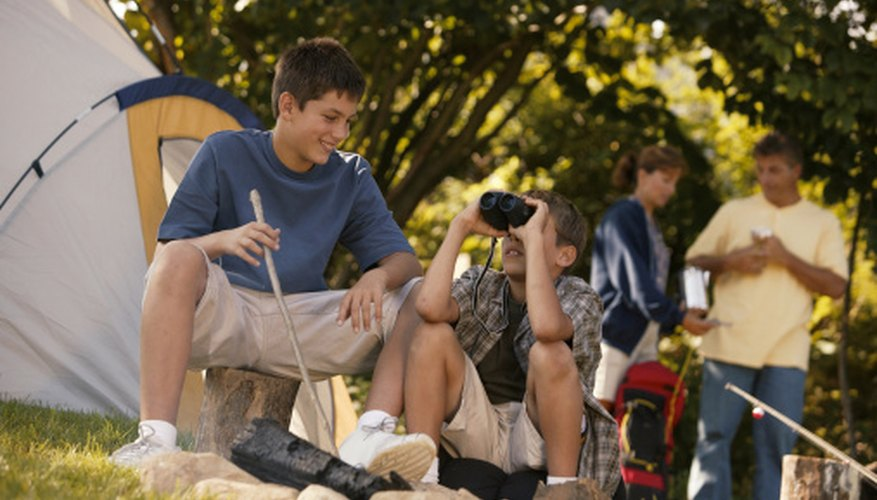 A 12-year-old boy can enjoy a summer day camp.