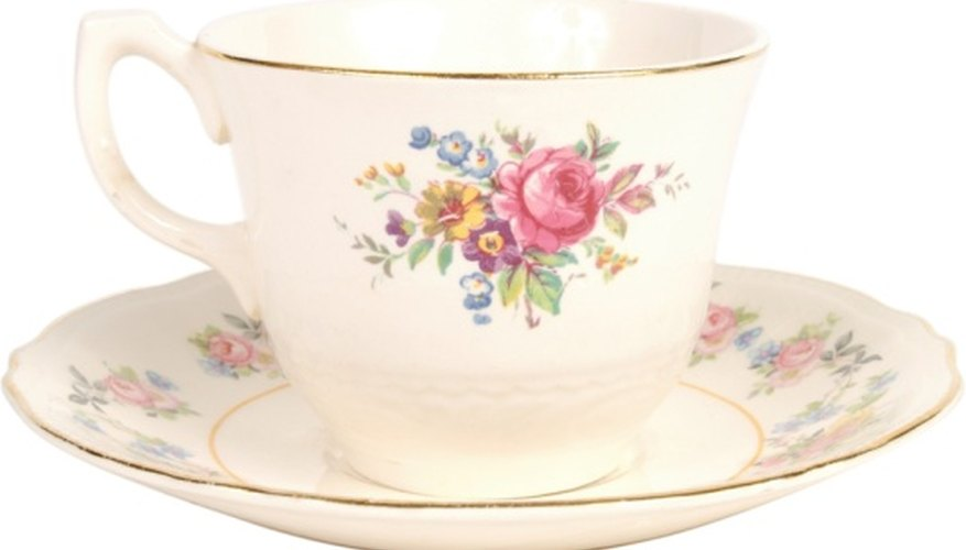 Your old cup and saucer may be worth more than you think.