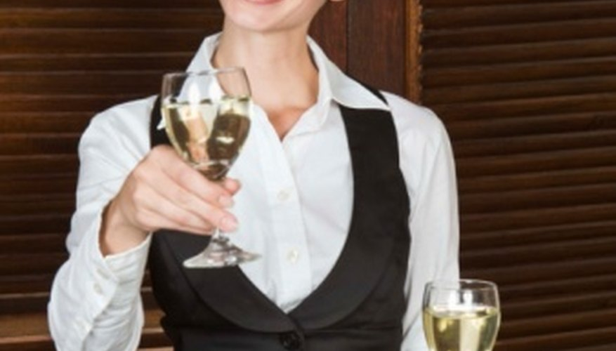 Personality is a cocktail waitress's greatest asset.