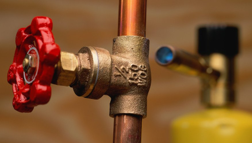 Copper pipe requires soldering and expertise with plumbing fittings.