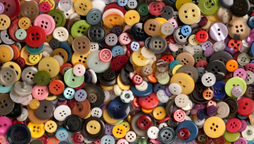 Search through your button collection for Bakelite buttons