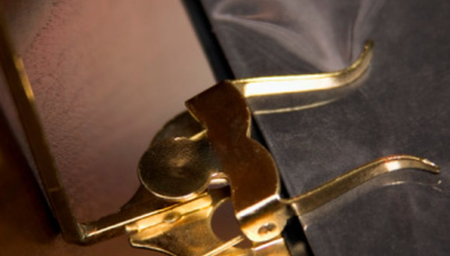 Lyres are used to hold music for musicians who are required to be in motion.
