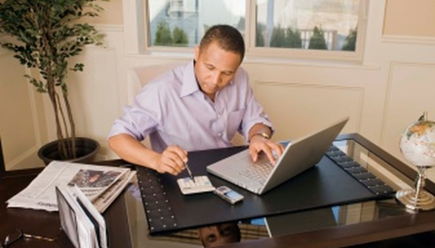 A home office can significantly reduce new-business startup costs.