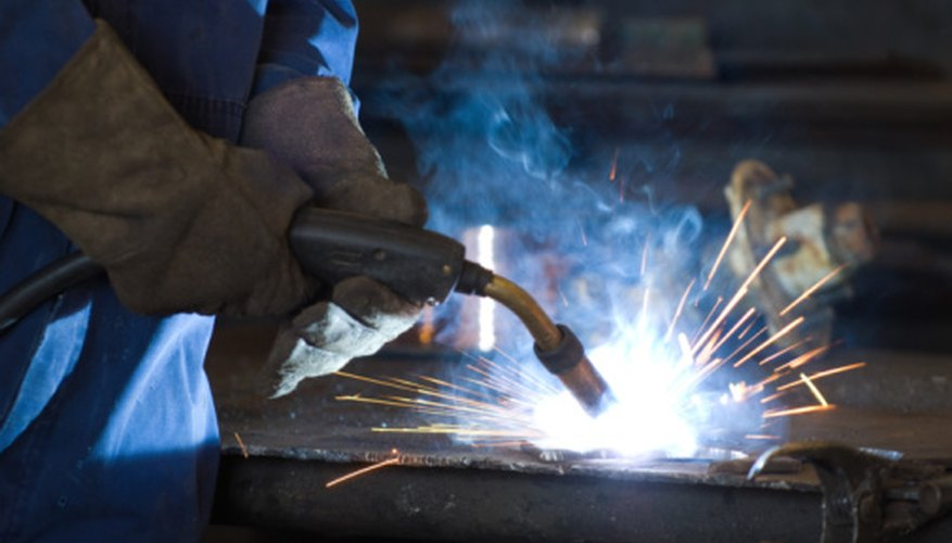 MIG welding is often used in pipeline work.