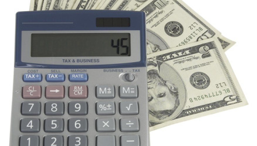 Items You Will Need Calculator Gross Annual Salary