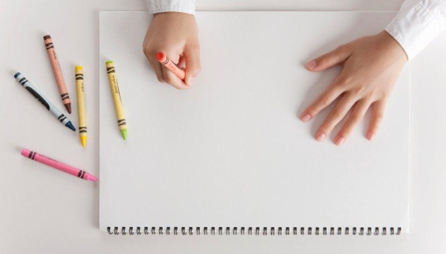 → Cómo eliminar el crayón del papel   Geniolandia