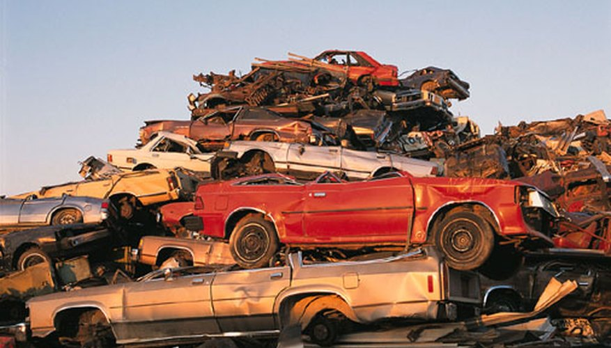 Scrap metal can be sold for hundreds of dollars per ton.