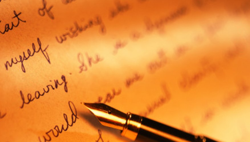 Consider changing how you hold your pen to explore a variety of writing styles.