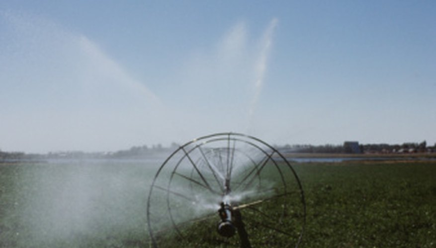 Sprinkler irrigation is available in many sizes and styles.