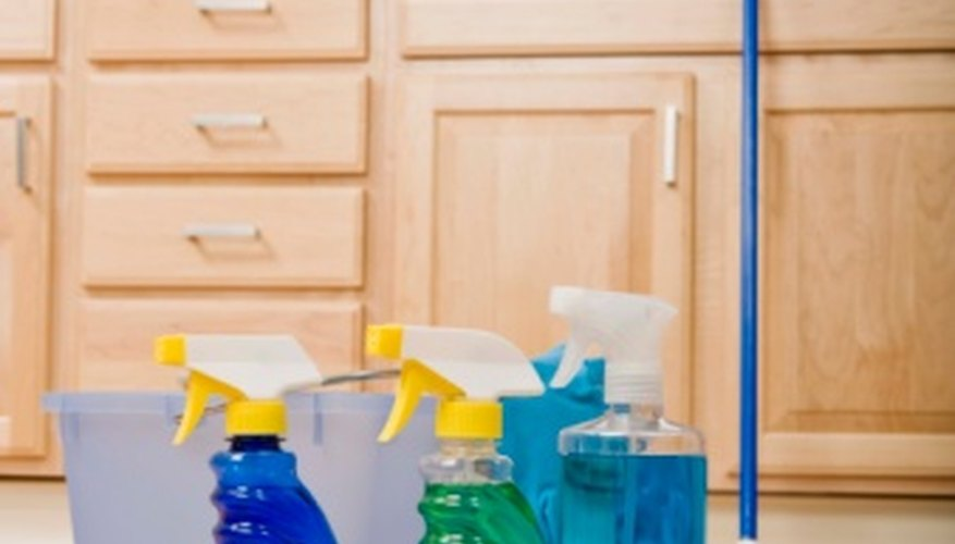 Keeping poisonous household chemicals in their original packaging will reduce the risk of accidental poisoning.