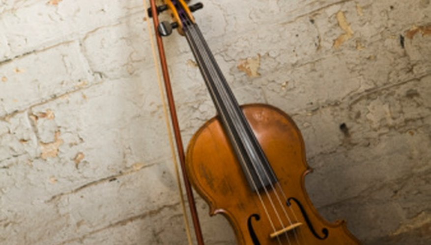 Violins have four strings capable of playing with great nuance.