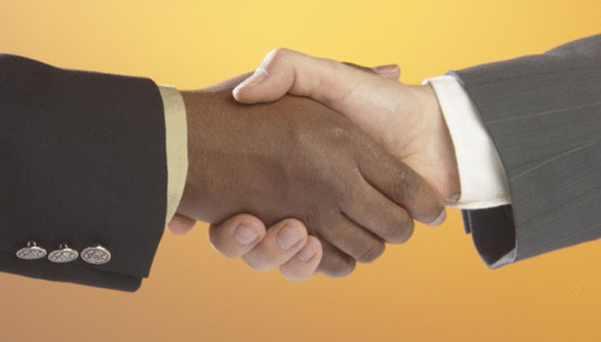 An arm's length transaction is when two related companies act as two separate entities with no relationship.