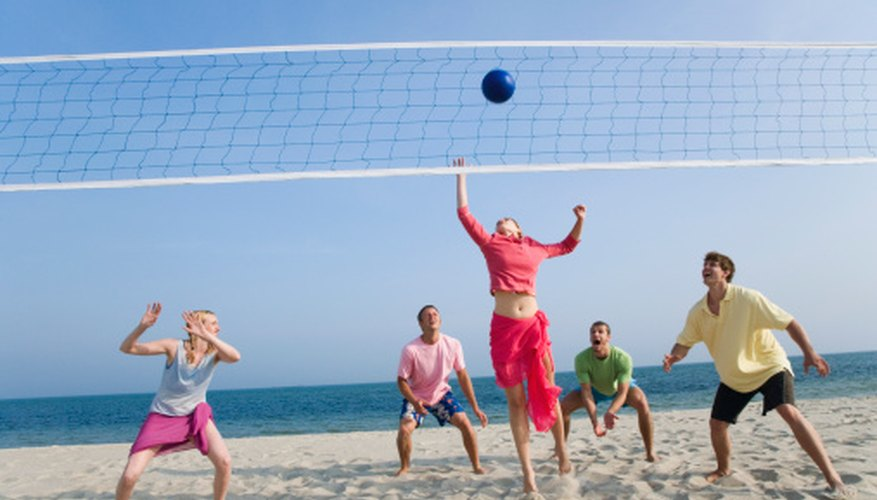 Beach volleyball can be fun among friends or as an organized league.