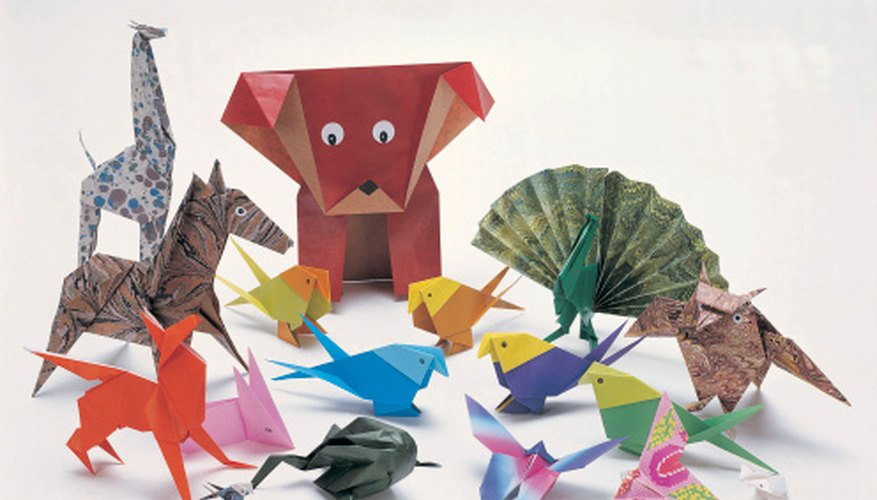 Thousands of objects can be made out of origami paper.