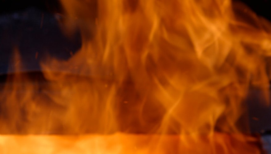 A fire is a type of combustion known as rapid combustion.