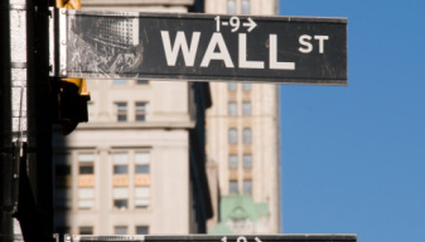 Wall Street investment banks buy and sell debt and equity securities.