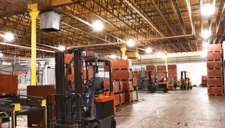 Heat exchangers maintain temperatures in factories.