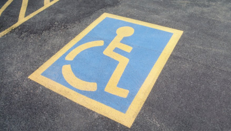 The ADA requires businesses have a certain proportion of accessible parking spots.