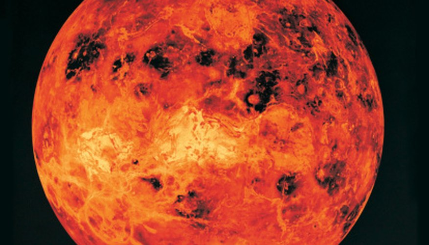 venus solar system science projects sciencing