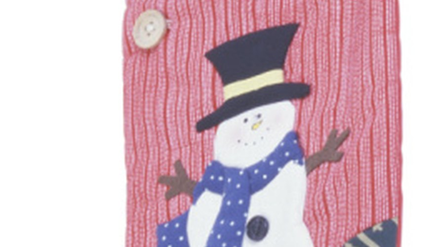 Use your Cricut to create appliques for holiday decor.