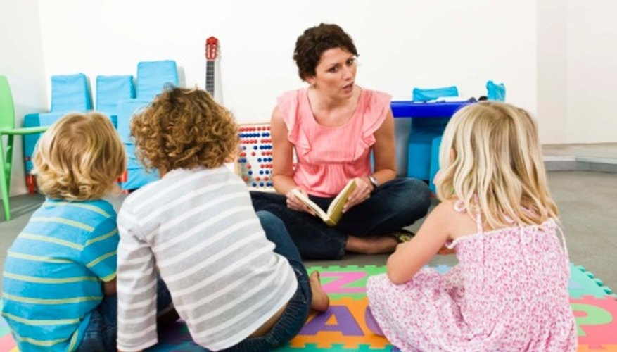Head Start teachers work with kids age 3 to 5 to develop early learning skills.