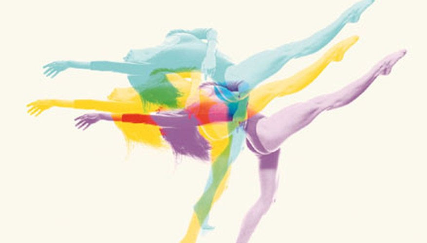 A dance recital focusing simply on color is a great, easy choice.