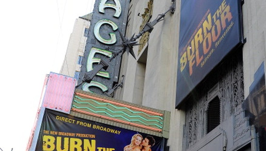 The Pantages Theatre hails from the Golden Age of Hollywood.