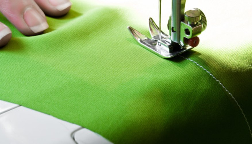 A beanie will stitch up quickly with a sewing machine.