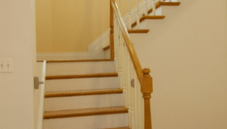 A wood handrail return is a short end cap.