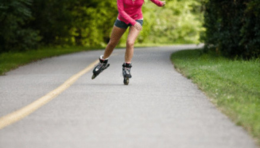 By maintaining your Rollerblades, you can become a faster skater.