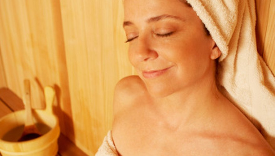 Home saunas can help reduce stress and create an opportunity to connect with others.