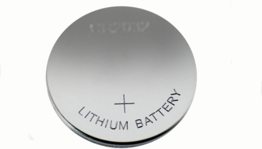 A lithium battery provides compact power, just right for a pen-sized LED pointer.