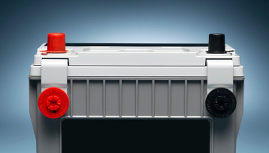 Car batteries are easy to connect into 36-volt units.