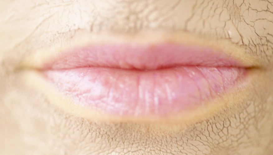 Lips have distinctive contours.