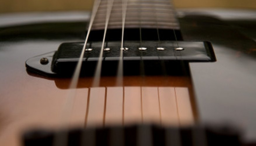 Guitar strings should be changed after 20 hours of playing time.
