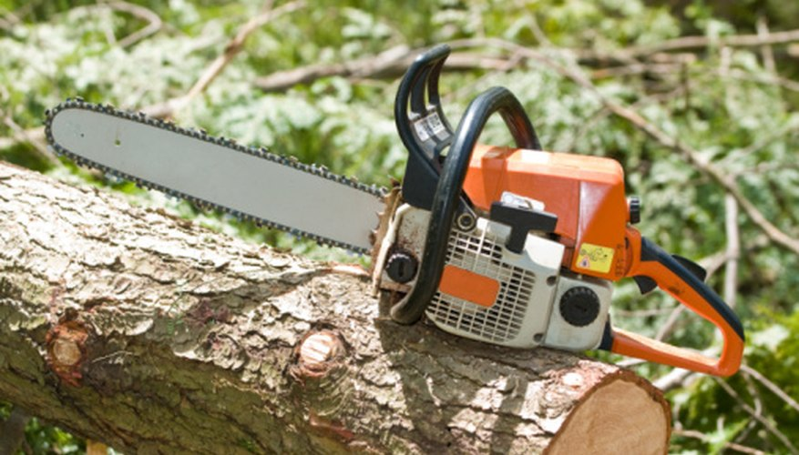 The pull string on a Stihl 031 AV chainsaw can get jammed with pitch or broken from pulling on it too hard.